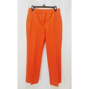 SoCa St. John Orange Casual Straight Leg Pants 6